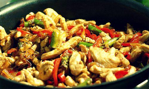 курица по китайски рецепт с фото
